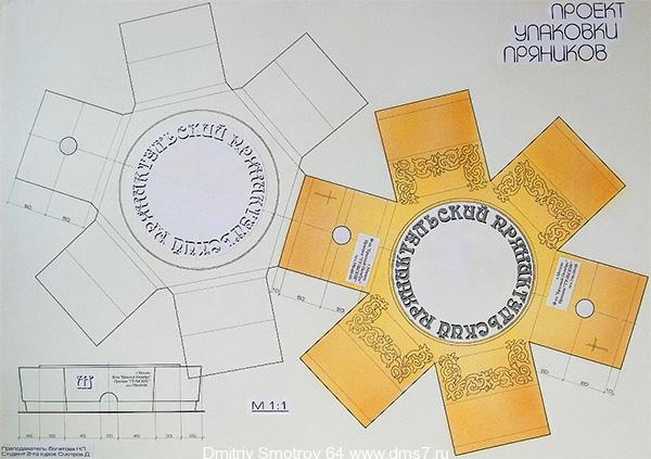 Дизайн упаковки проект